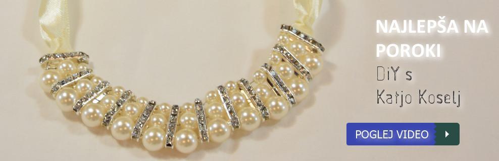 Najlepša ogrlica na poroki