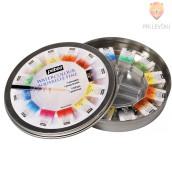 Set akvarelnih barv v kovinski dozi + čopič