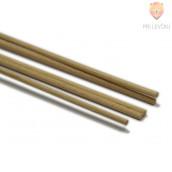 Lesena palica 4 mm x 1 m, 10 kos