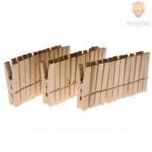 Lesene ščipalke 4,5x0,7 cm