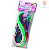Plastične vrvice pletenje zapestnic - 100 kos