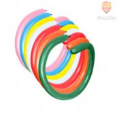 Baloni podolgovati barvni miks