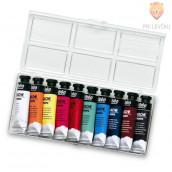 Set šolskih tempera barv v tubi - 10x10 ml