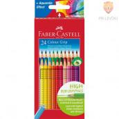 Akvarelne barvice Faber-Castell Grip 24/1