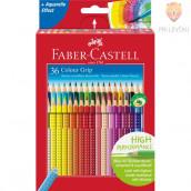 Akvarelne barvice Faber-Castell Grip 36/1