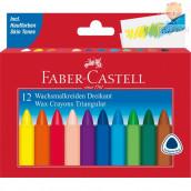 Voščenke Grip trikotne Faber-Castell 12/1