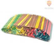 Lesene palčke 500 kosov barvne