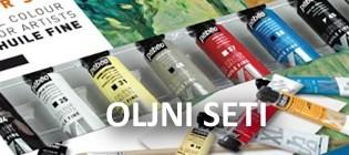 Set oljnih barv