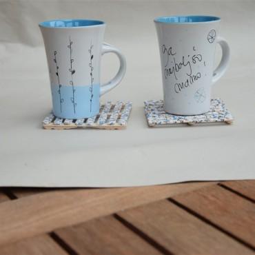 VIDEO: Poslikava skodelice z barvami za porcelan