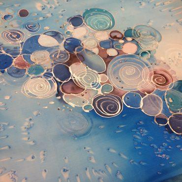DELAVNICA: Slikanje na svilo - začetna stopnja 8. 11.