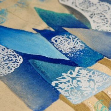 DELAVNICA: Zimski tekstilni motiv z barvami Setacolor 14. 11.
