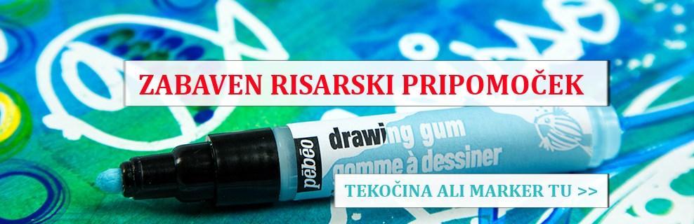 Drawing gum ali guma za akvarelno slikanje