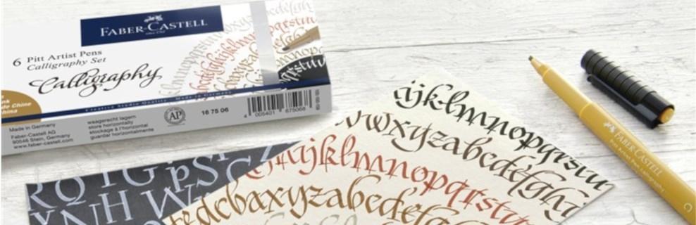 Kaligrafski kompleti Faber-Castell >>