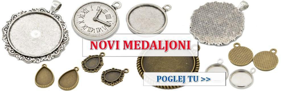 Novi medaljoni in obeski