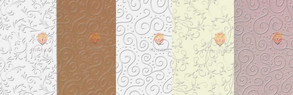 Reliefni kartoni za vabila, čestitke, poroke >>