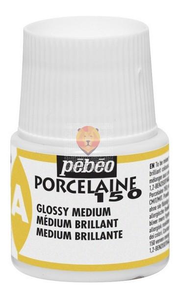 Sijajni medij za barve Porcelaine150 45ml