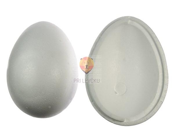 Jajce iz stiroporja dvodelno 21 cm