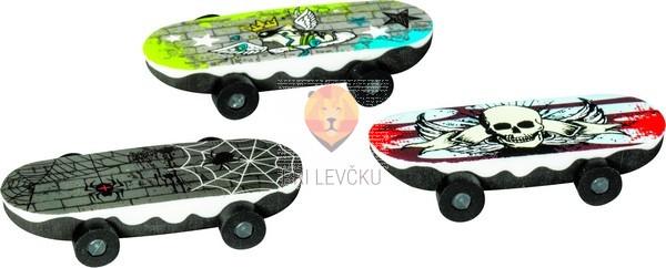 Radirka Skateboard 6x2cm 1 kos