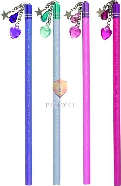 Svinčnik s kristalčki 1 kos