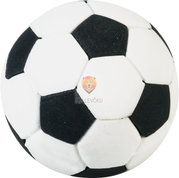 Radirka nogometna žoga 3,5 cm 1 kos