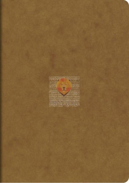 Zvezek A5 s črtami rjav 40-listni