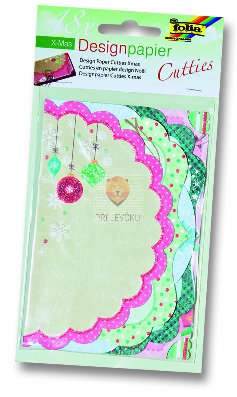 Design papir Cutties - Božični