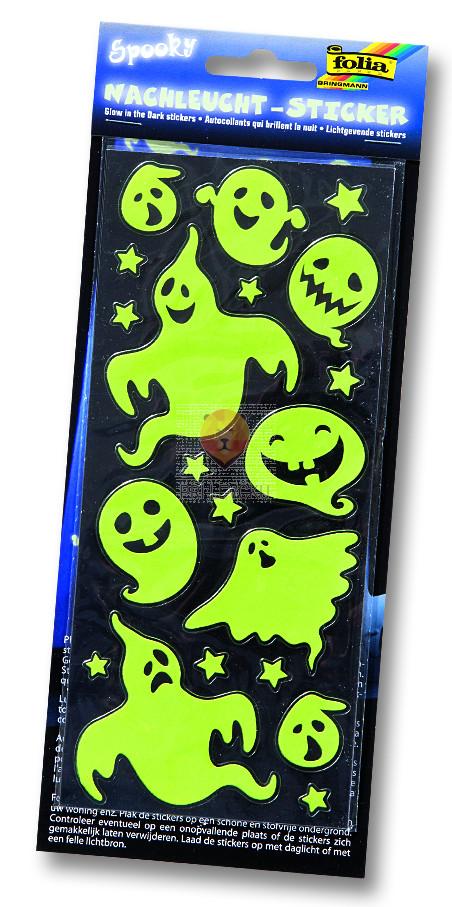 Fosforescentne nalepke - Spooky