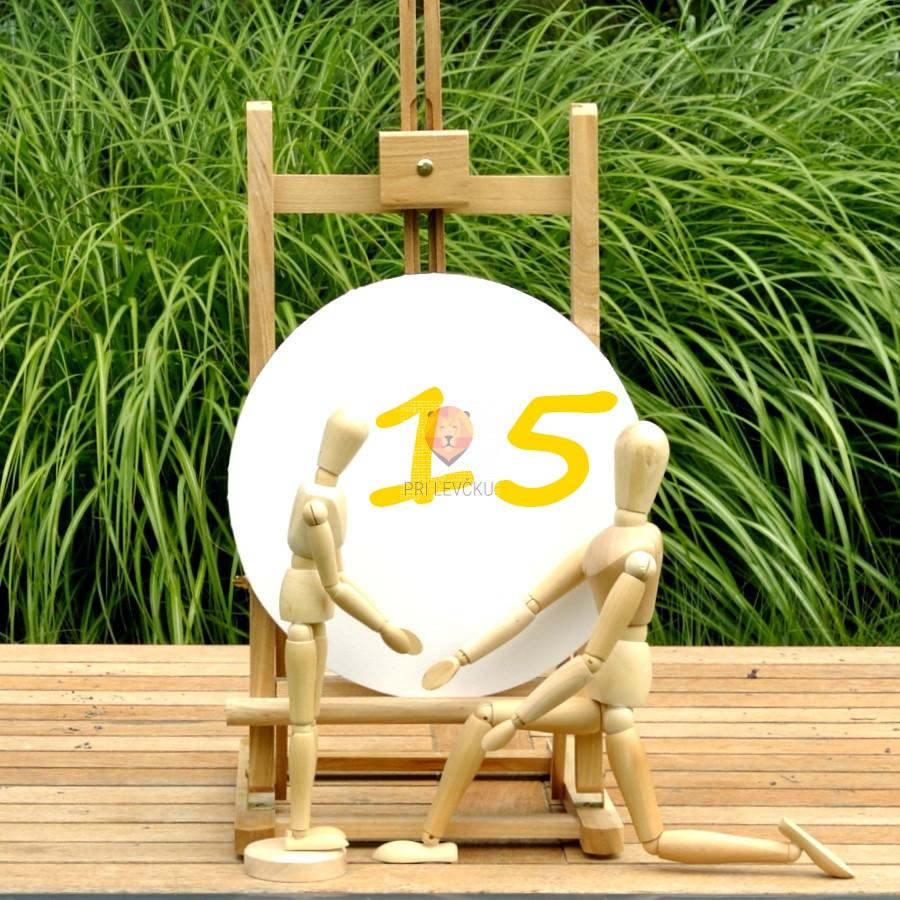 Okroglo 15 cm