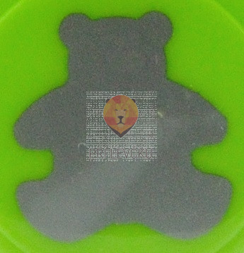 Luknjač srednji 25mm Medvedek