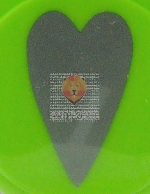 Luknjač srednji 25mm Srce podolgovato