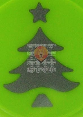 Luknjač srednji 25mm Smreka z zvezdo