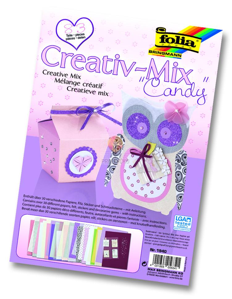 "Papirni kreativni miks ""Candy"""