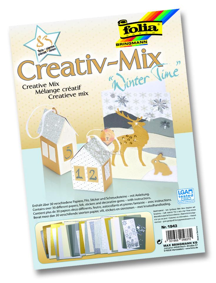 """Papirni kreativni miks """"Winter Time"""""""