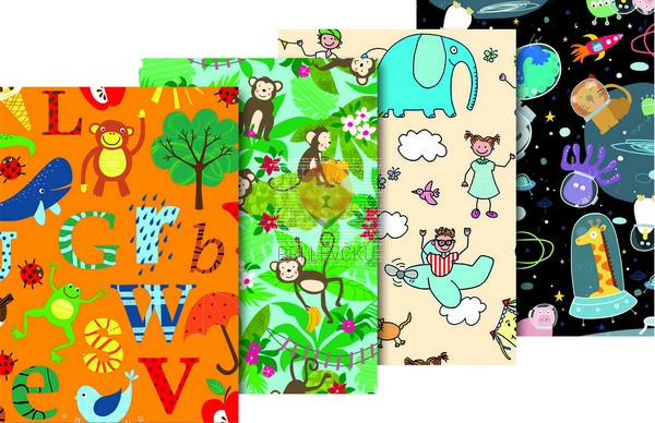 Zavijalni papir Kids fun 80 g/m2 70 x 200 cm