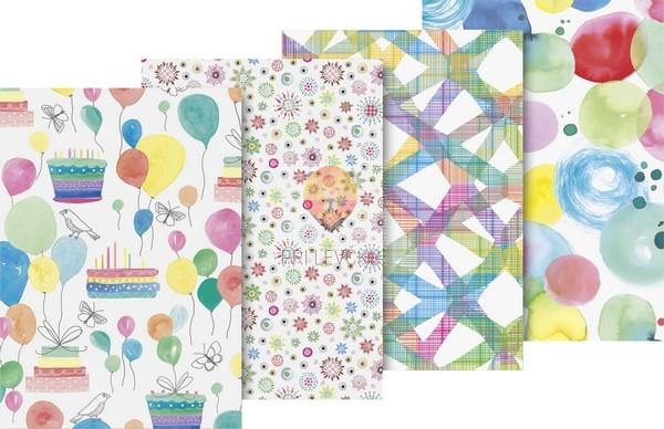 Zavijalni papir Colourful 80g/m2 70x200cm