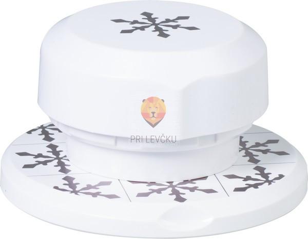 "Flexi magnetni luknjač za papir, ""Snežinka"" 3,6 cm"