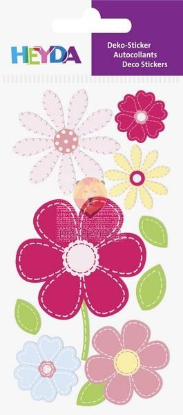 Nalepke z dekorativnimi detajli Rožice