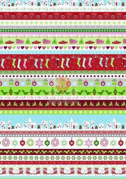 "Karton z motivom ""Sweet Home Christmas,"" 300 g/m2, 50 x 70 cm, 1 kos"