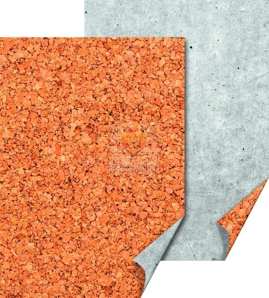 Karton z naravnimi motivi Pluta in beton 50x70cm 300g/m2 1 kos