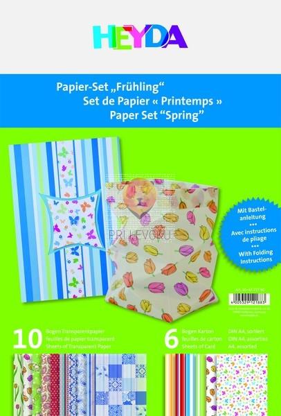 Set papirjev Pomlad 16-delni