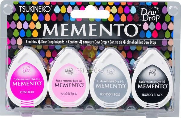 Blazinice za štampiljke Memento Dew Drops Girls night out 4 kosi