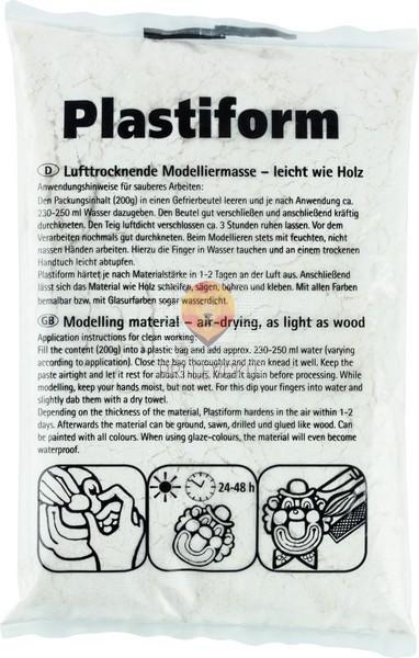 Celulozni prah za modeliranje Plastiform 200g