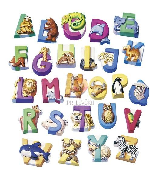 Kalup za ulivanje Živalska abeceda