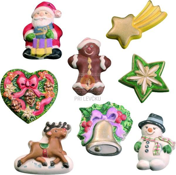 Kalup za ulivanje Božični motivi 1