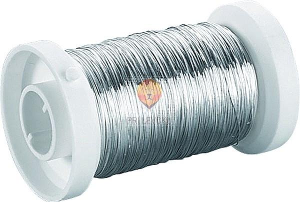 Žica srebrne barve 0,4 mmx40m