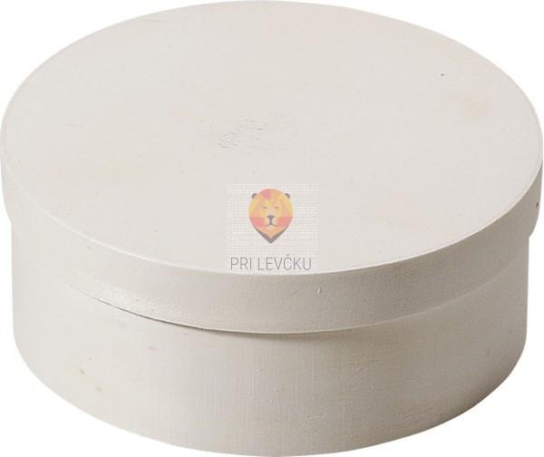 Lesena škatlica okrogla 35mm-100mm 1 kos
