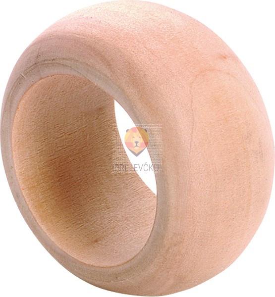 Leseni obroček 5x2,5cm 1 kos