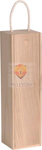 Lesena škatla za vino 37x10,5x9,5cm 1 kos