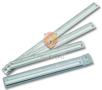 Aluminijasto ravnilo, dolžine 30 cm