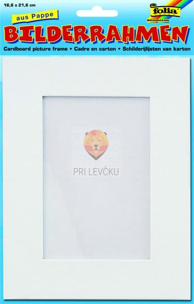 Kartonast okvir, 16,6 x 21,6 cm